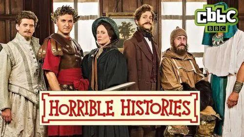 BBC旗下儿童节目《糟糕历史》宣传图