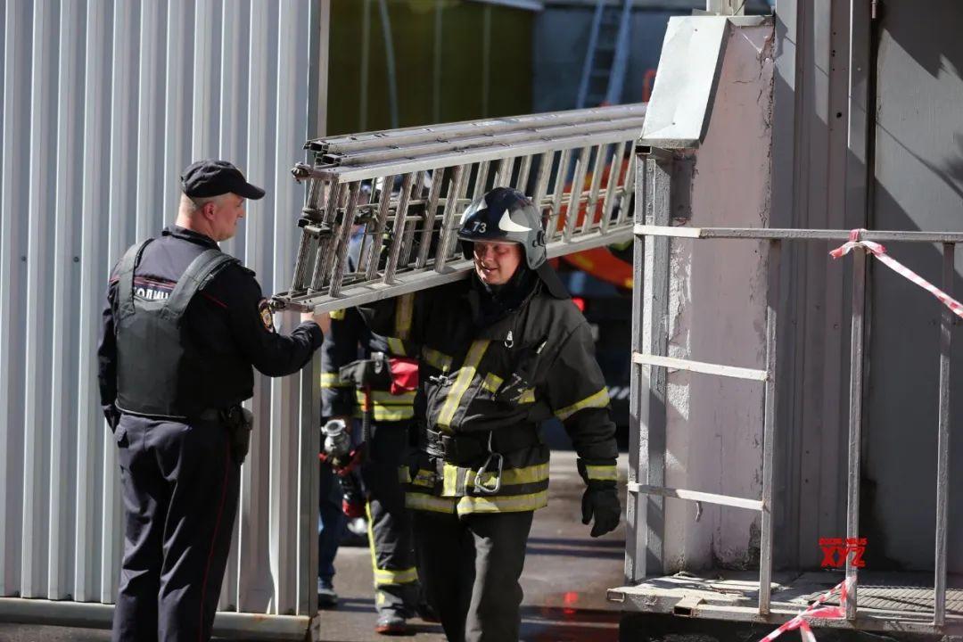 莫斯科一酒店起火,约100名儿童在里面
