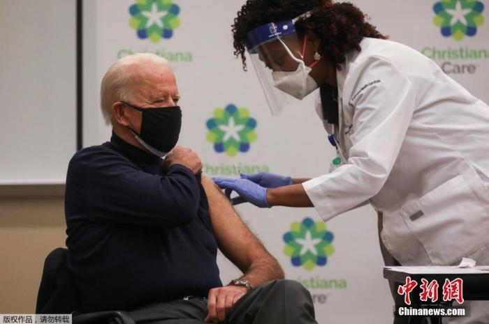 拜登定疫苗新目标:7月4日时接种覆盖70%成年人口