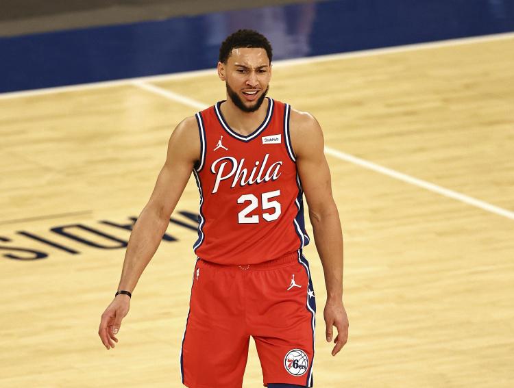 NBA官方更新DPOY榜单:本-西蒙斯、戈贝尔、阿德巴约稳居前三