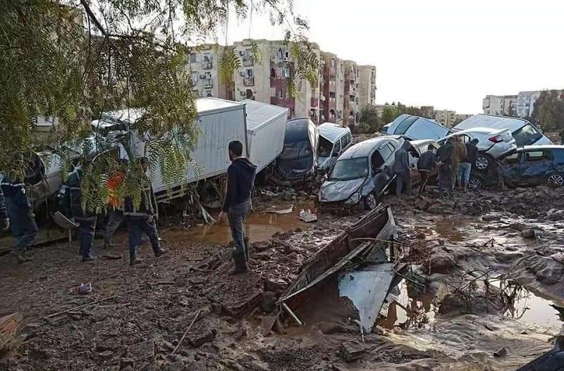 阿尔及利亚发生洪灾 致4人死亡多人受伤