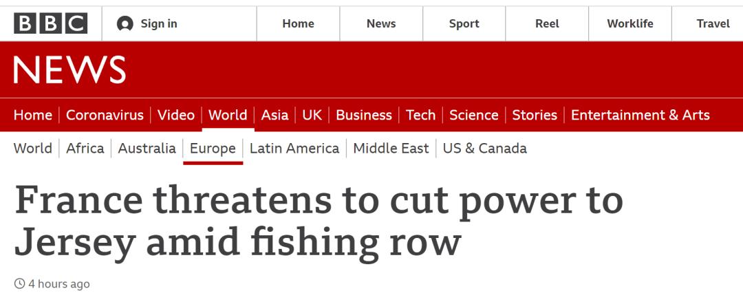 这次 法国威胁上英国了