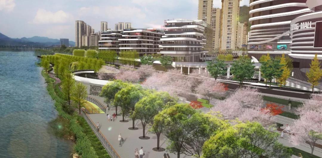 建德洋安江滨公园景观带升级改造计划出炉 未来将有大变化