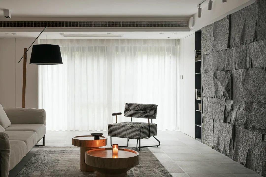 原石+原木,焕发日式空间的生命力   璞珥空间设计