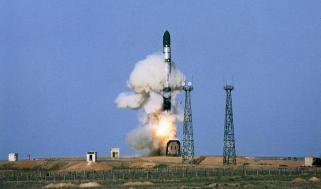 """美军""""民兵3""""洲际弹道导弹试射前,突然临时中止"""