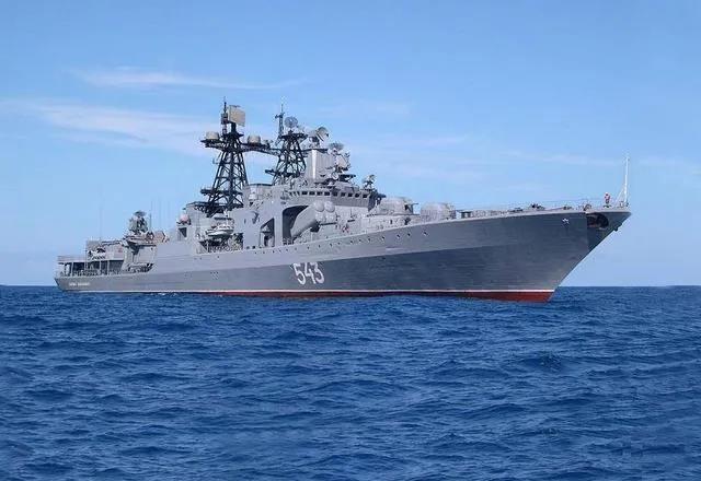 俄罗斯海军无畏级反潜舰改造后归建 专家:助力俄太平洋舰队作战能力提升