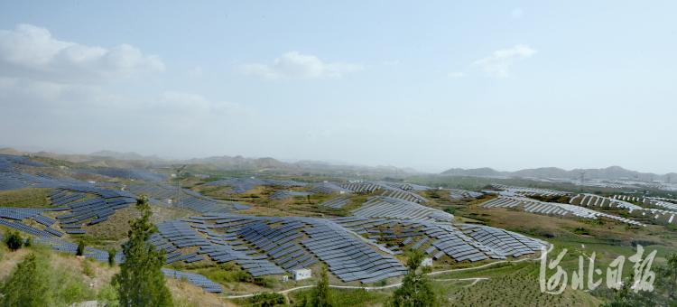 河北曲阳:光伏发电完成并网400兆瓦