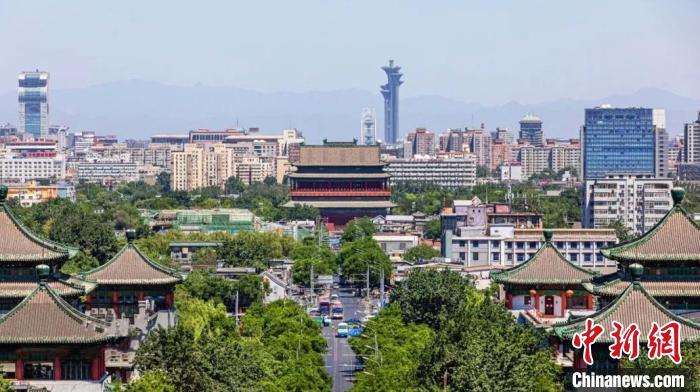 """北京中轴线商业街市启动复兴计划 再现""""前朝后市""""景象"""