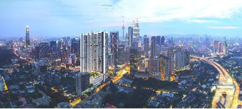 【马来西亚房产】位于吉隆坡大使馆区的雅居乐·大使花园,租客的对象非富则