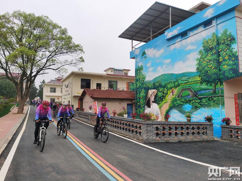 江西安义:青春骑行 乐享乡村之美