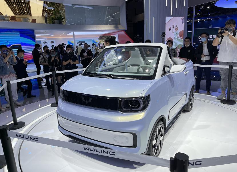 一季度宏光MINIEV全球销量力压Model Y,榜单前五中国品牌占三
