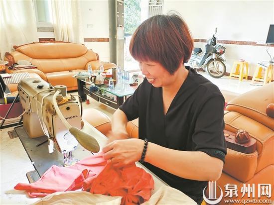 身为党员,晋江妇女曾秀刺带领村民追求美好生活