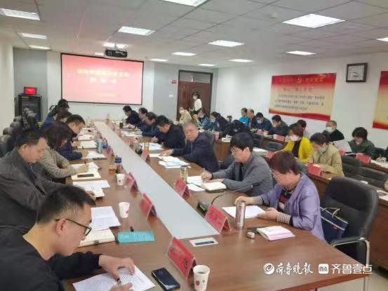 泰安市人社局组织企业代表到泰安技师学院座谈交流