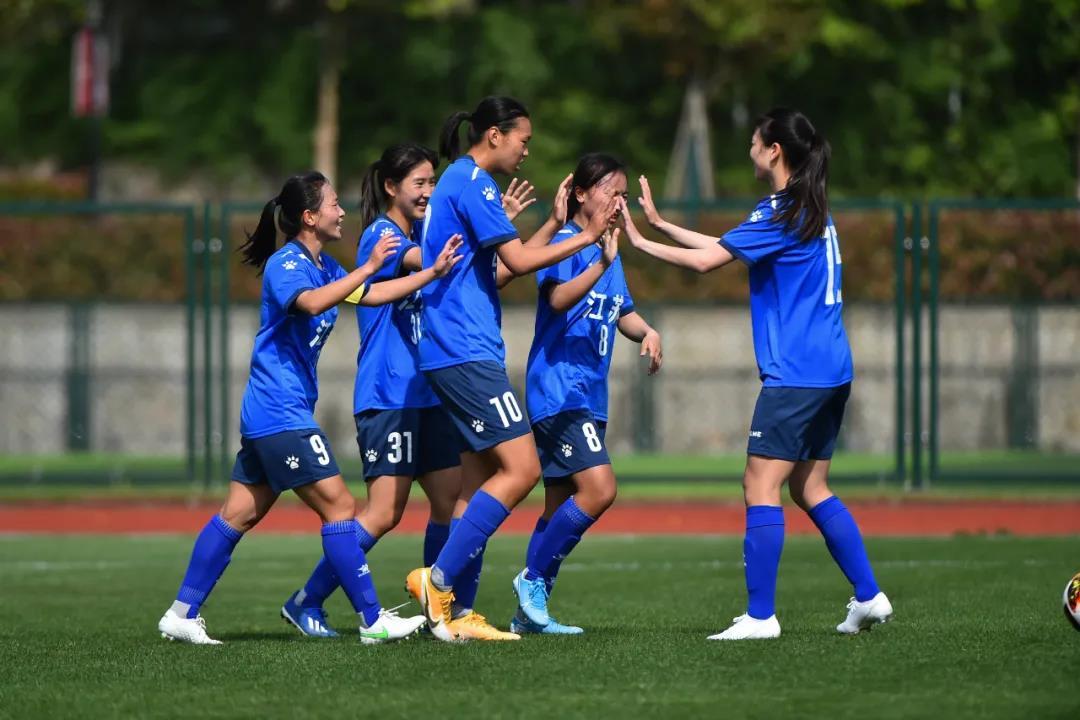 全运会U18女足资格赛 江苏青年女足首战告捷!