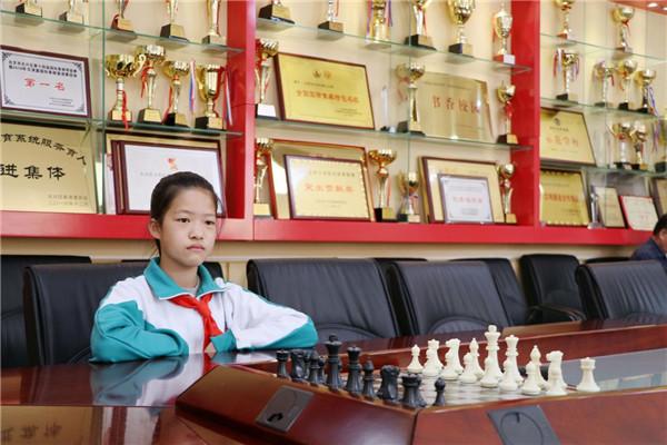 从大兴九小出发的国象之旅——小小棋后冯一涵与国际象棋的结缘记忆