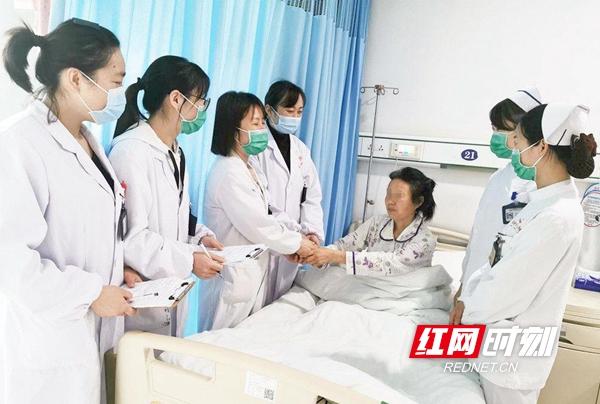 """常德一医妇科二病区""""一站式""""服务晚期妇科恶性肿瘤患者"""