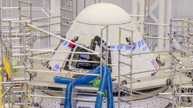 """波音最早将于7月30日再次试飞""""星际线飞船"""""""