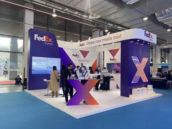 联邦快递在上海国际快递物流博览会展示疫苗运输优势