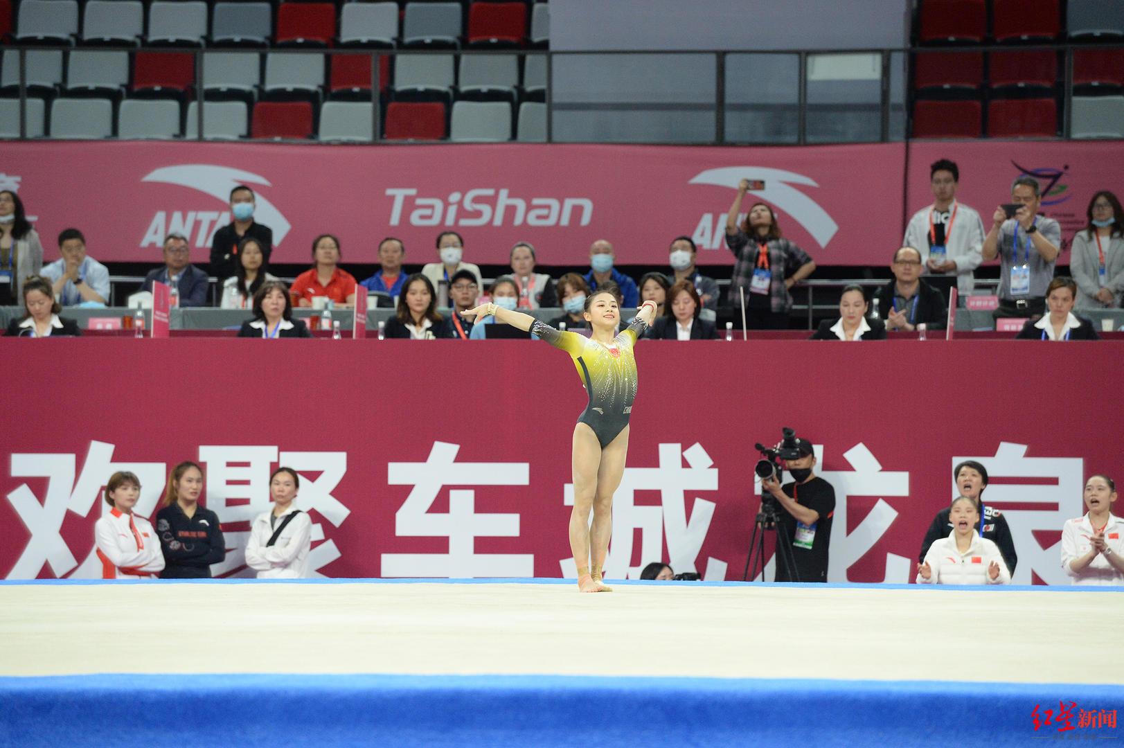 全国体操锦标赛女子全能:四川小花李诗佳决赛发挥失常仅获第三