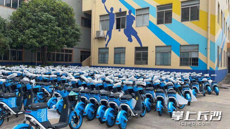 专属号段、智能头盔、人脸识别,长沙共享电单车首批5万台上新!