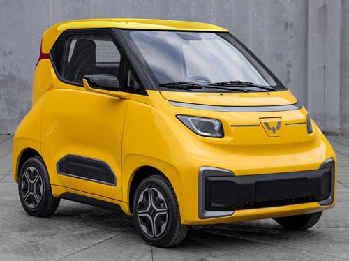 比宏光MINI EV更小但续航更长 五菱Nano EV更多信息