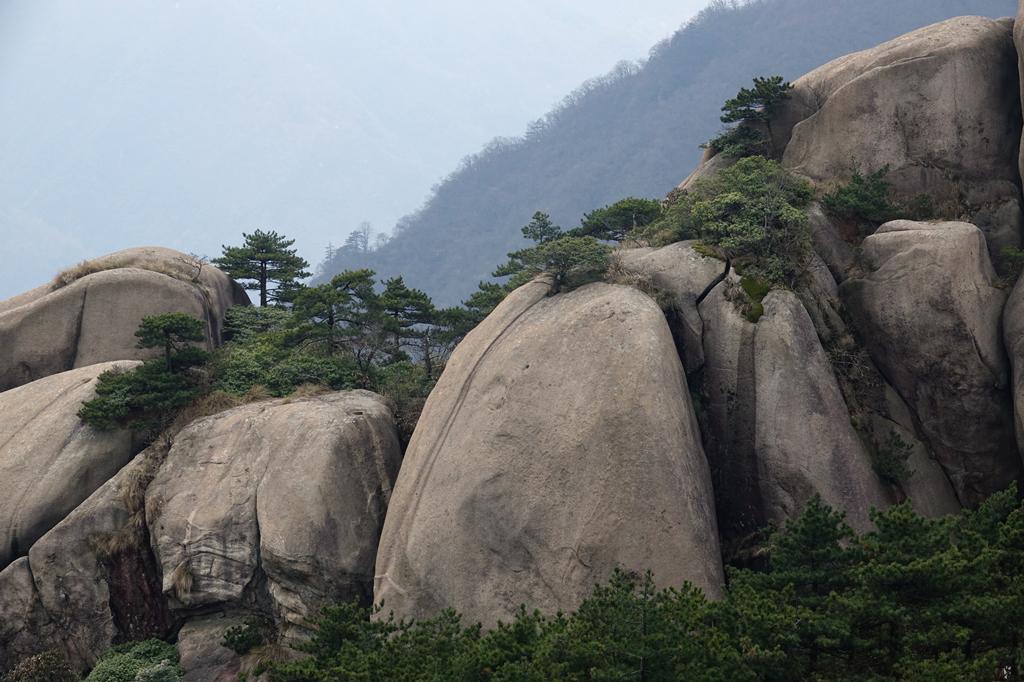 走进世界地质公园 多种地貌让九华山千姿百态