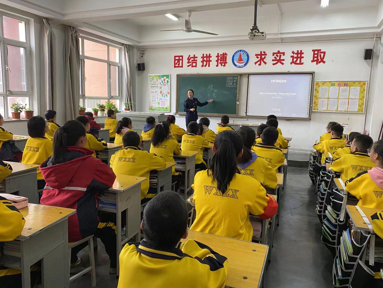 国家税务总局岚县税务局走进中小学讲授税收宣传课
