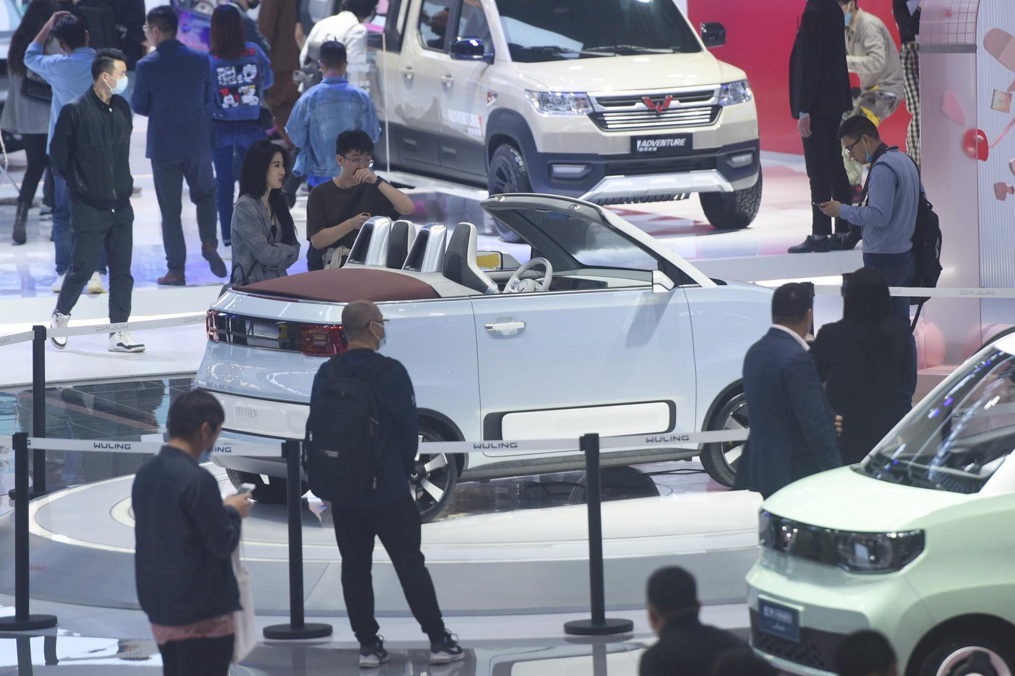 传微型电动车上海暂停上牌,五菱宏光MINIEV等近10款车型将受限