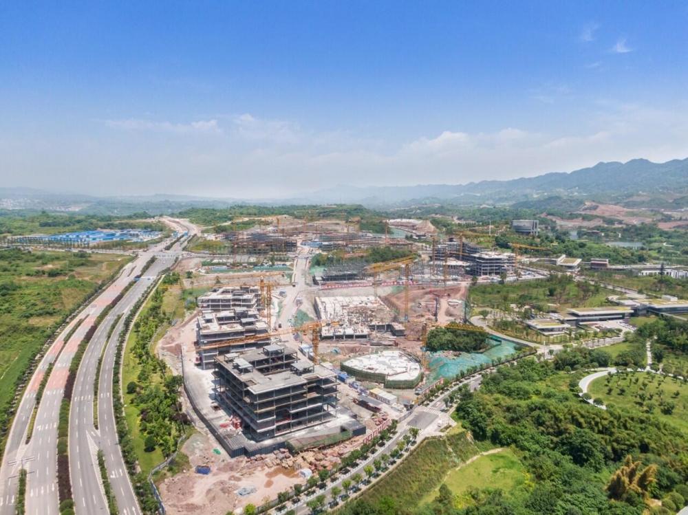 两江协同创新区联合产业孵化基地建设提速