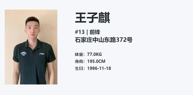 全运会资格赛:王子麒轰下52分10板 河北队102-98上海队