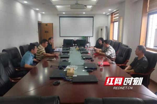 株洲石峰区党史学习教育巡回指导组到区检察院指导工作