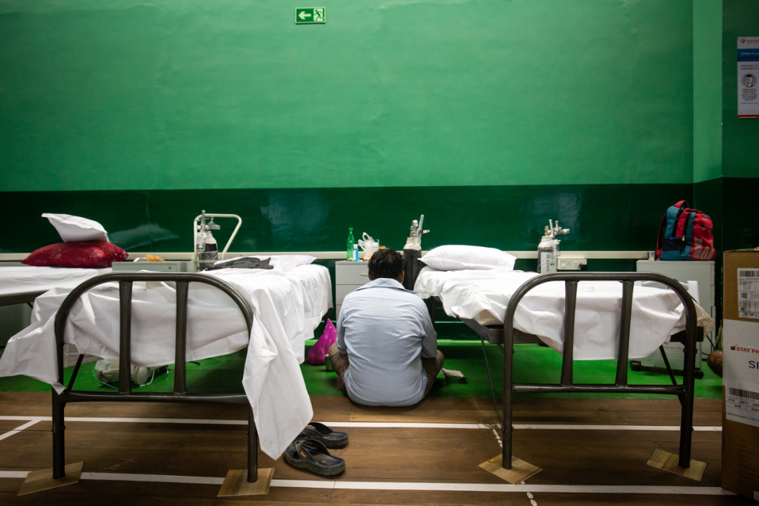 印度医院竟让医生藏起来了,原因让人无语