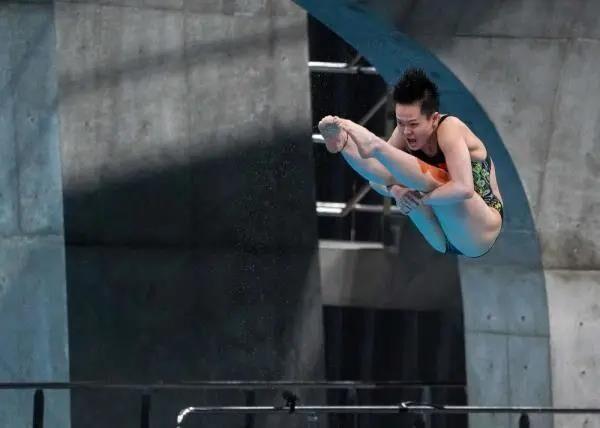 跳水世界杯暨奥运会资格赛,中山籍运动员陈艺文夺得2金!