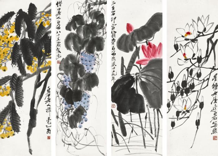五百馀件中国书画将上春拍 齐白石徐悲鸿吴冠中皆有精品亮相