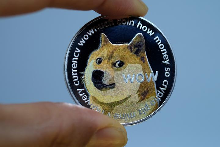 比特币今日突破 59000 美元 / 枚,狗狗币再创历史新高