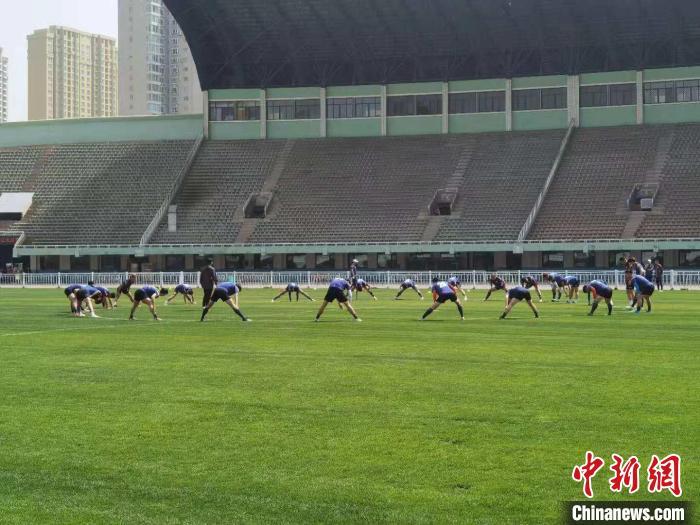 山西龙晋足球俱乐部出征2021年中国足协乙级联赛