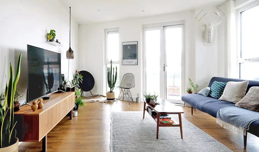 今日屋主丨北欧风84㎡公寓,简简单单的生活之家!