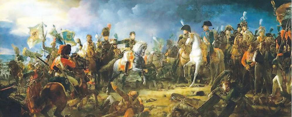 拿破仑把一位上尉派去维也纳,于是有了今天的武官