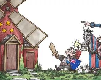世界观 | 澳大利亚实力演绎,什么叫自作自受啊?