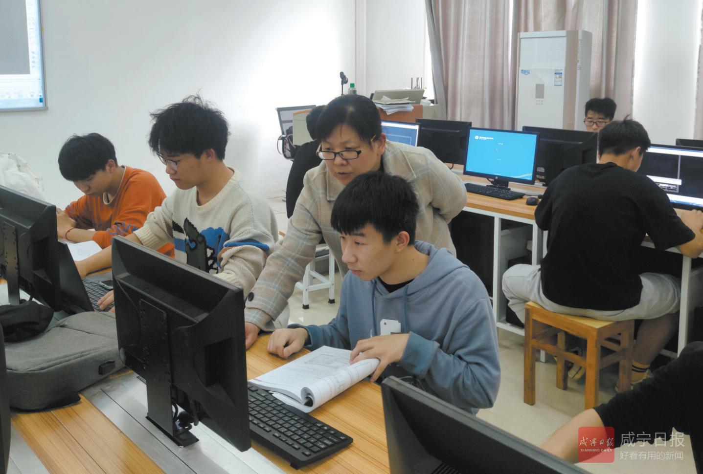 省女性科技创新人才赫焕丽:潜心教学教研,做教育工匠践行者