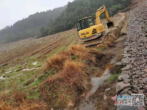 临川区桐源乡为群众解决灌溉排水难题(图)