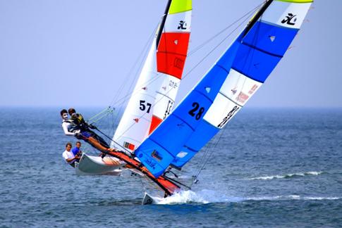 第一个由地方举办的中国HOBIE帆船公开赛火热招募,in威海