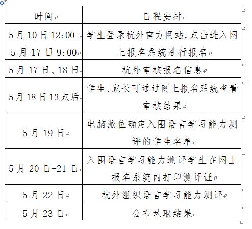 杭外初一新生明日启动报名,19日摇号,22日测试!