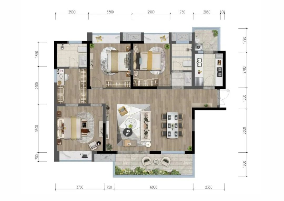 赢咖3注册首页 你会庆幸遇到这个422亩的超级大盘:准现房、带装修,仅10600元/㎡起!