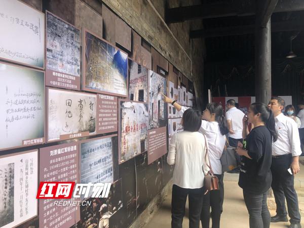 双牌县委党校主体班临时党支部开展主题党日活动