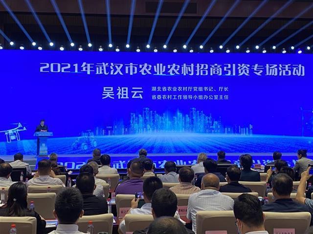 武汉首次举办农业农村招商引资专场活动
