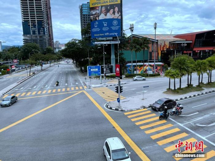马来西亚启用疫情热点预警系统 暂时关闭多家有风险商场