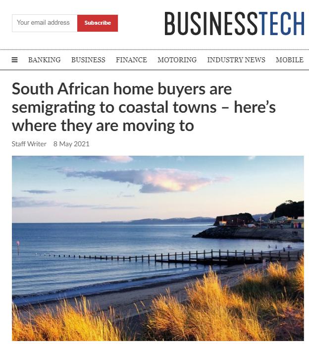 南非花园大道正成该国增长最快房地产热点地区