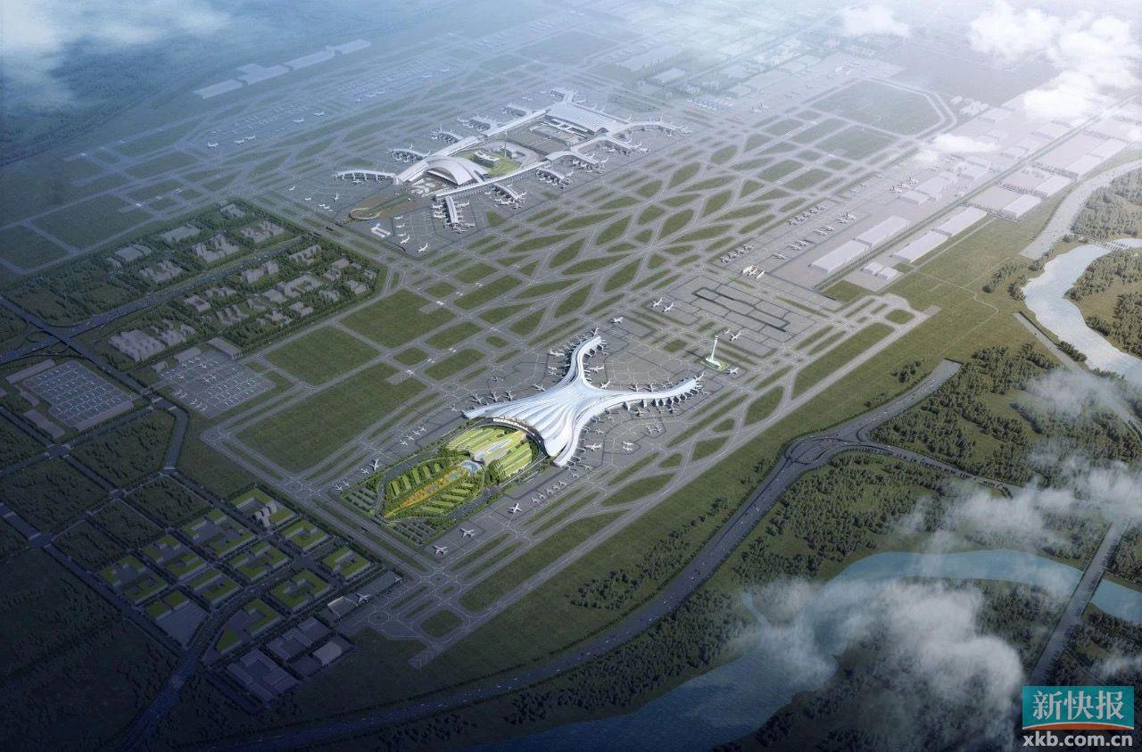 白云机场T3交通枢纽轨道交通预留工程批复