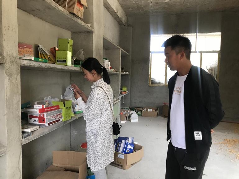 钟山区农业农村局开展兽药饲料安全专项检查行动